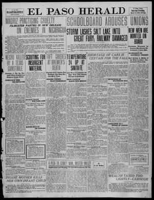 Primary view of object titled 'El Paso Herald (El Paso, Tex.), Ed. 1, Tuesday, March 29, 1910'.