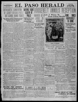 Primary view of object titled 'El Paso Herald (El Paso, Tex.), Ed. 1, Tuesday, April 5, 1910'.