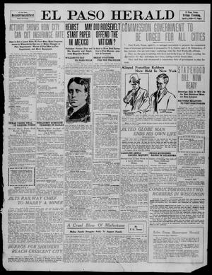 Primary view of object titled 'El Paso Herald (El Paso, Tex.), Ed. 1, Friday, April 8, 1910'.
