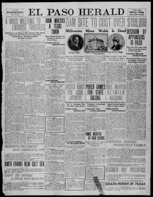 Primary view of object titled 'El Paso Herald (El Paso, Tex.), Ed. 1, Saturday, April 9, 1910'.