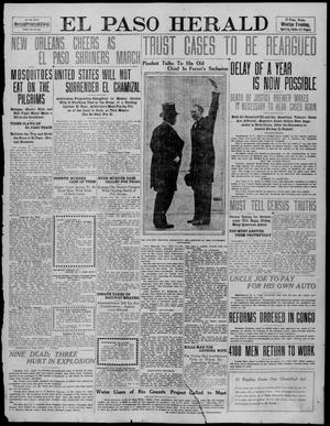 Primary view of object titled 'El Paso Herald (El Paso, Tex.), Ed. 1, Monday, April 11, 1910'.