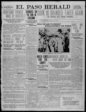 Primary view of object titled 'El Paso Herald (El Paso, Tex.), Ed. 1, Tuesday, April 12, 1910'.