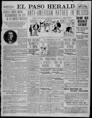 Primary view of object titled 'El Paso Herald (El Paso, Tex.), Ed. 1, Thursday, April 14, 1910'.