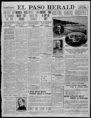 Primary view of object titled 'El Paso Herald (El Paso, Tex.), Ed. 1, Friday, April 15, 1910'.