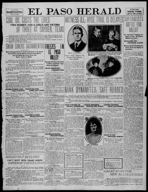 Primary view of object titled 'El Paso Herald (El Paso, Tex.), Ed. 1, Saturday, April 16, 1910'.