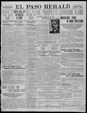 Primary view of object titled 'El Paso Herald (El Paso, Tex.), Ed. 1, Monday, April 25, 1910'.