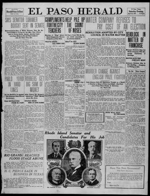 Primary view of object titled 'El Paso Herald (El Paso, Tex.), Ed. 1, Saturday, April 30, 1910'.