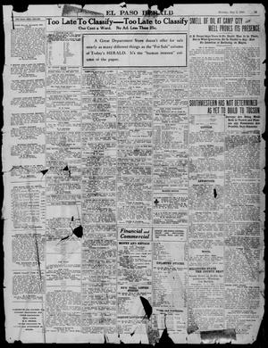 Primary view of object titled 'El Paso Herald (El Paso, Tex.), Ed. 1, Monday, May 2, 1910'.