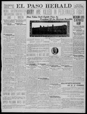 Primary view of object titled 'El Paso Herald (El Paso, Tex.), Ed. 1, Thursday, December 1, 1910'.