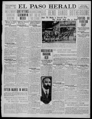 Primary view of object titled 'El Paso Herald (El Paso, Tex.), Ed. 1, Friday, December 2, 1910'.