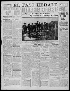 Primary view of object titled 'El Paso Herald (El Paso, Tex.), Ed. 1, Tuesday, December 6, 1910'.