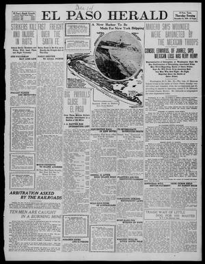 Primary view of object titled 'El Paso Herald (El Paso, Tex.), Ed. 1, Thursday, December 15, 1910'.