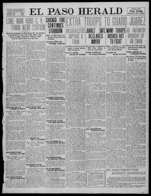 Primary view of object titled 'El Paso Herald (El Paso, Tex.), Ed. 1, Friday, December 23, 1910'.