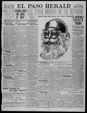 Primary view of object titled 'El Paso Herald (El Paso, Tex.), Ed. 1, Saturday, December 24, 1910'.