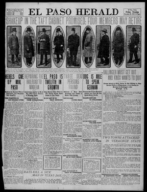 Primary view of object titled 'El Paso Herald (El Paso, Tex.), Ed. 1, Friday, December 30, 1910'.