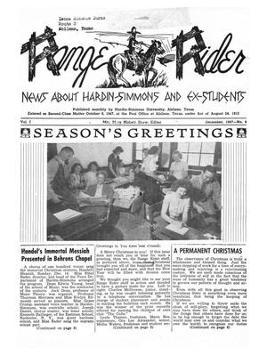 Range Rider, Volume 1, Number 4, December, 1947