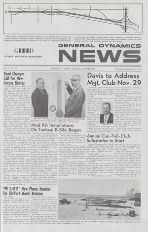 General Dynamics News, Volume 15, Number 24, November 21, 1962