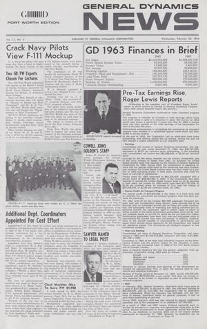 General Dynamics News, Volume 17, Number 5, February 26, 1964