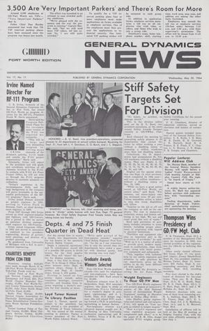 General Dynamics News, Volume 17, Number 11, May 20, 1964