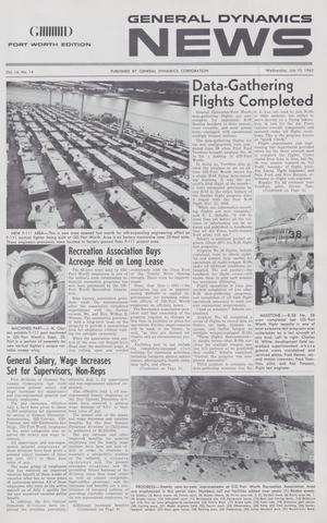 General Dynamics News, Volume 16, Number 14, July 10, 1963