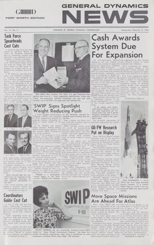 General Dynamics News, Volume 17, Number 4, February 12, 1964