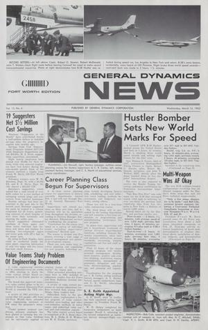 General Dynamics News, Volume 15, Number 6, March 14, 1962