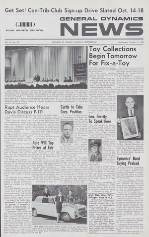 General Dynamics News, Volume 16, Number 20, October 2, 1963