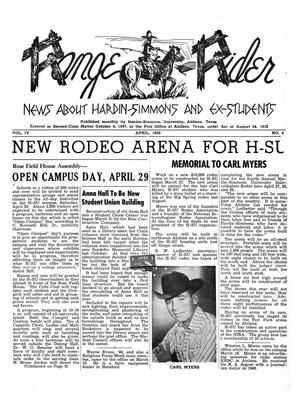 Range Rider, Volume 4, Number 4, April, 1950