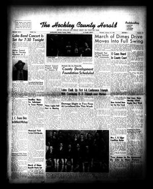 Primary view of object titled 'The Hockley County Herald (Levelland, Tex.), Vol. 27, No. 26, Ed. 1 Thursday, January 18, 1951'.