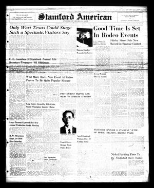 Primary view of Stamford American and The Stamford Leader (Stamford, Tex.), Vol. 28, No. 17, Ed. 1 Thursday, July 5, 1951
