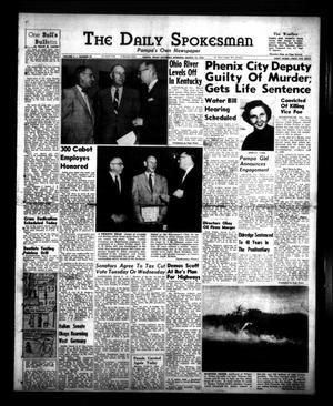 Primary view of The Daily Spokesman (Pampa, Tex.), Vol. 4, No. 79, Ed. 1 Saturday, March 12, 1955