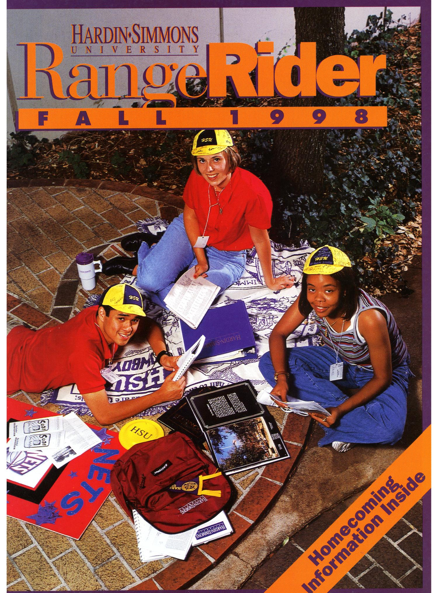 Range Rider, Fall 1998                                                                                                      Front Cover