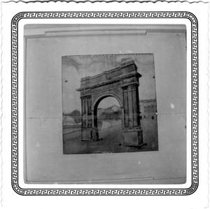 [Painting of an Arch]