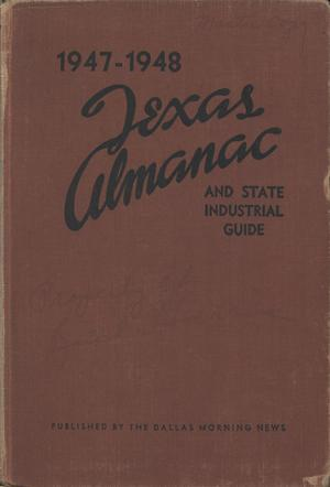 Primary view of object titled 'Texas Almanac, 1947-1948'.