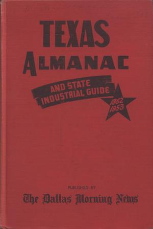 Primary view of object titled 'Texas Almanac, 1952-1953'.