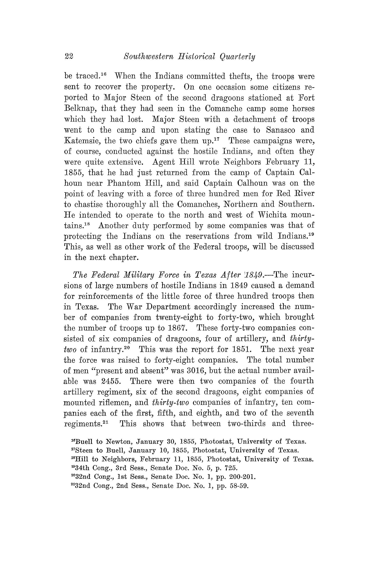 The Southwestern Historical Quarterly, Volume 29, July 1925 - April, 1926                                                                                                      22