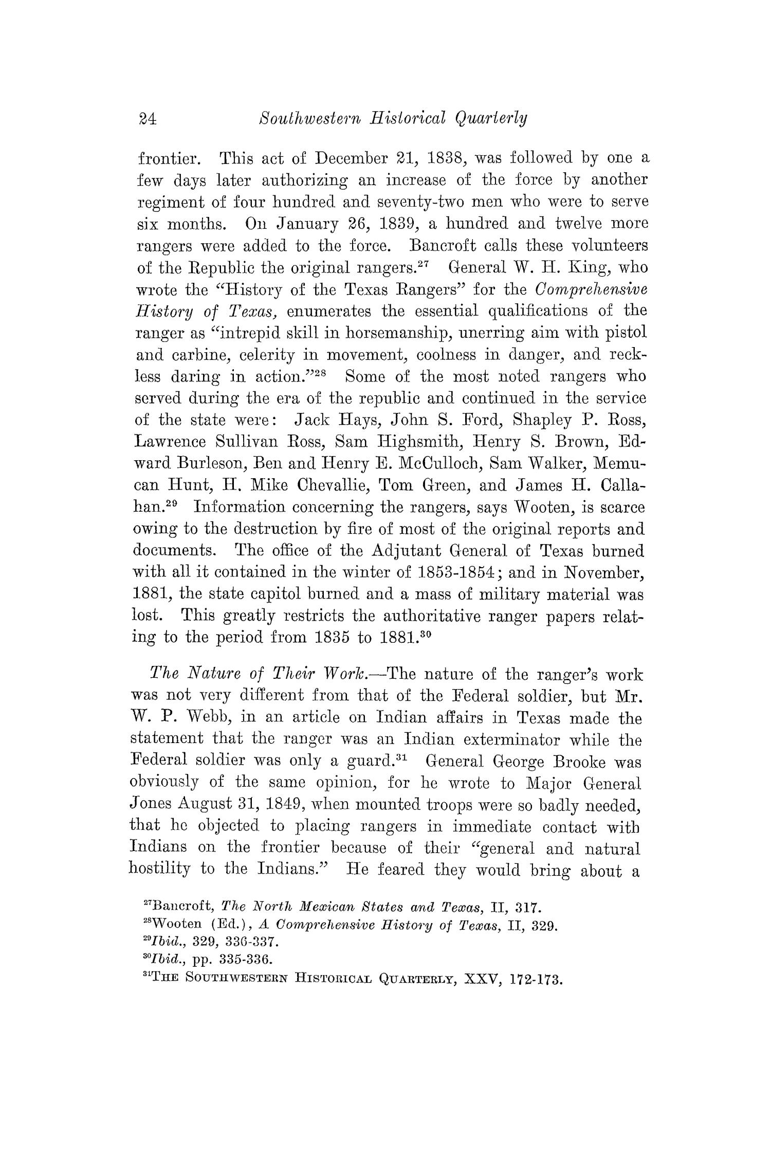 The Southwestern Historical Quarterly, Volume 29, July 1925 - April, 1926                                                                                                      24
