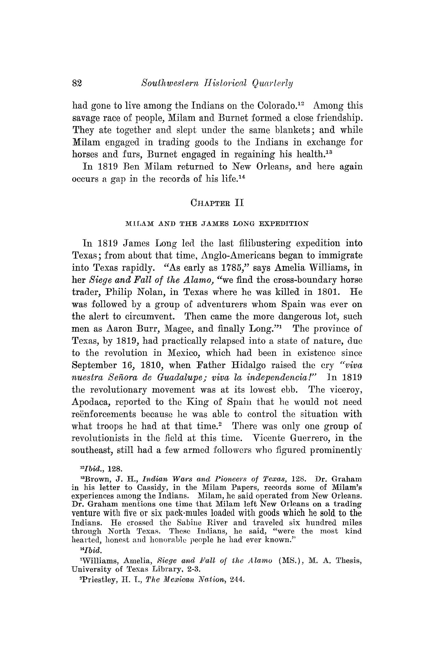 The Southwestern Historical Quarterly, Volume 38, July 1934 - April, 1935                                                                                                      82