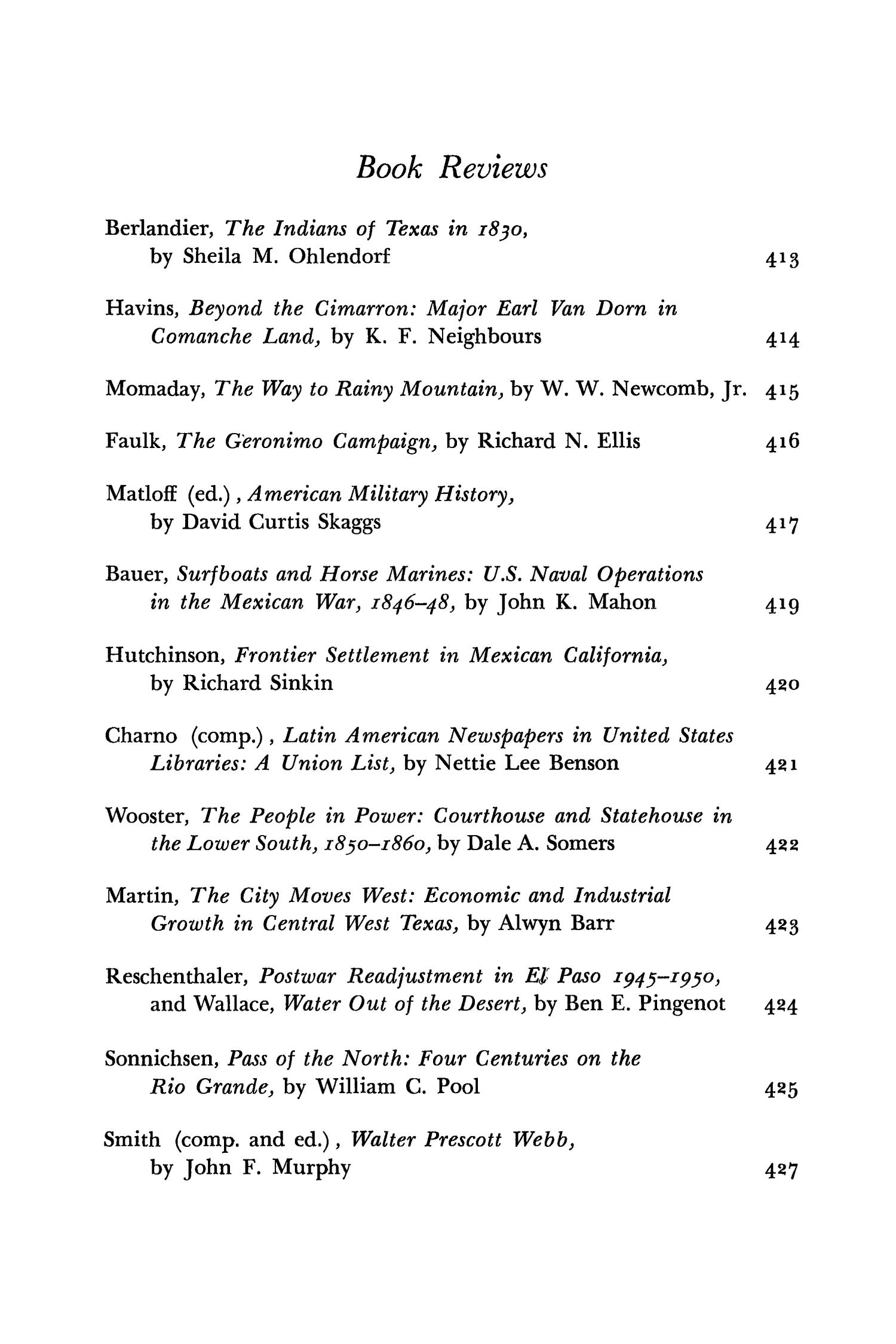 The Southwestern Historical Quarterly, Volume 73, July 1969 - April, 1970                                                                                                      None
