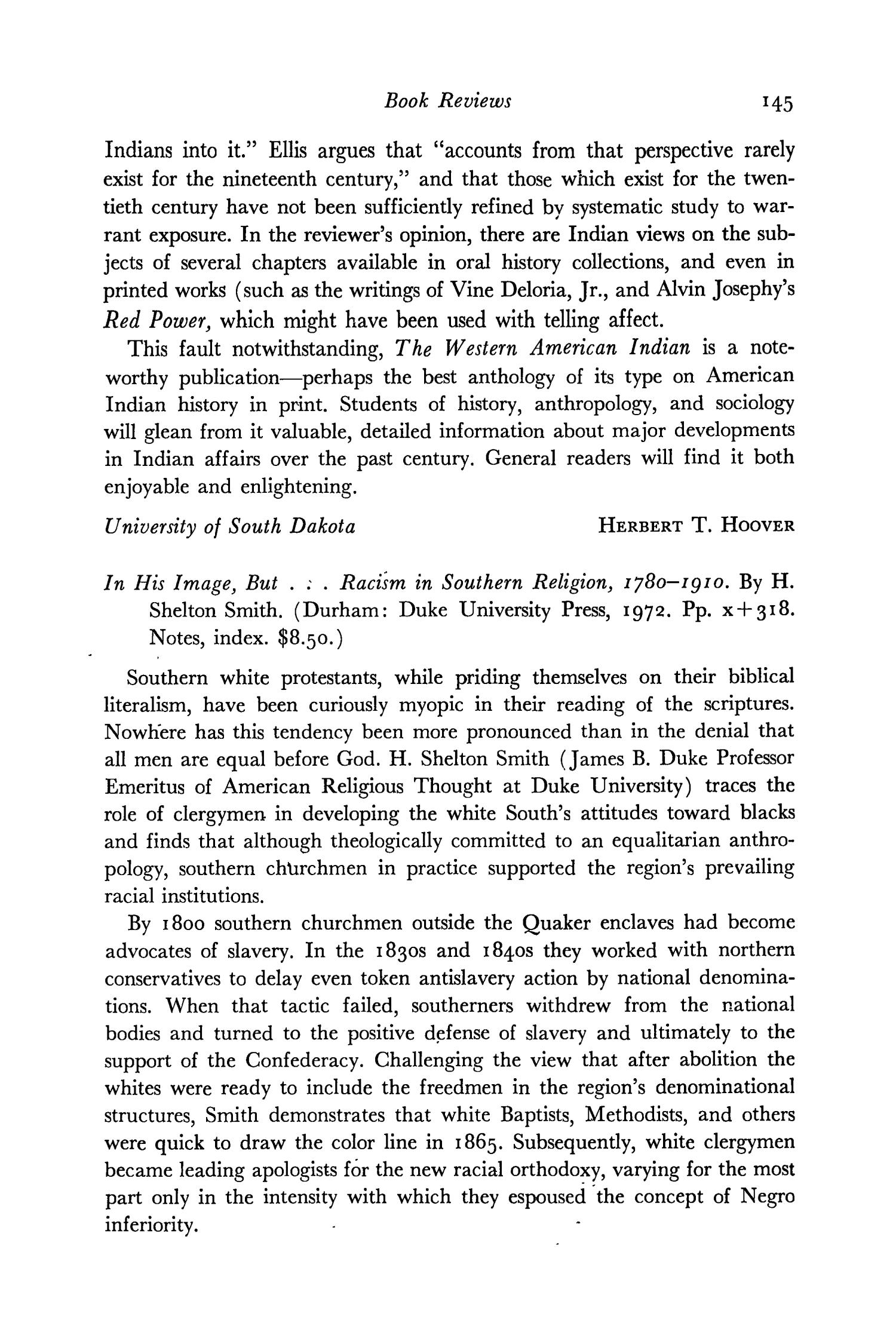 The Southwestern Historical Quarterly, Volume 77, July 1973 - April, 1974                                                                                                      145