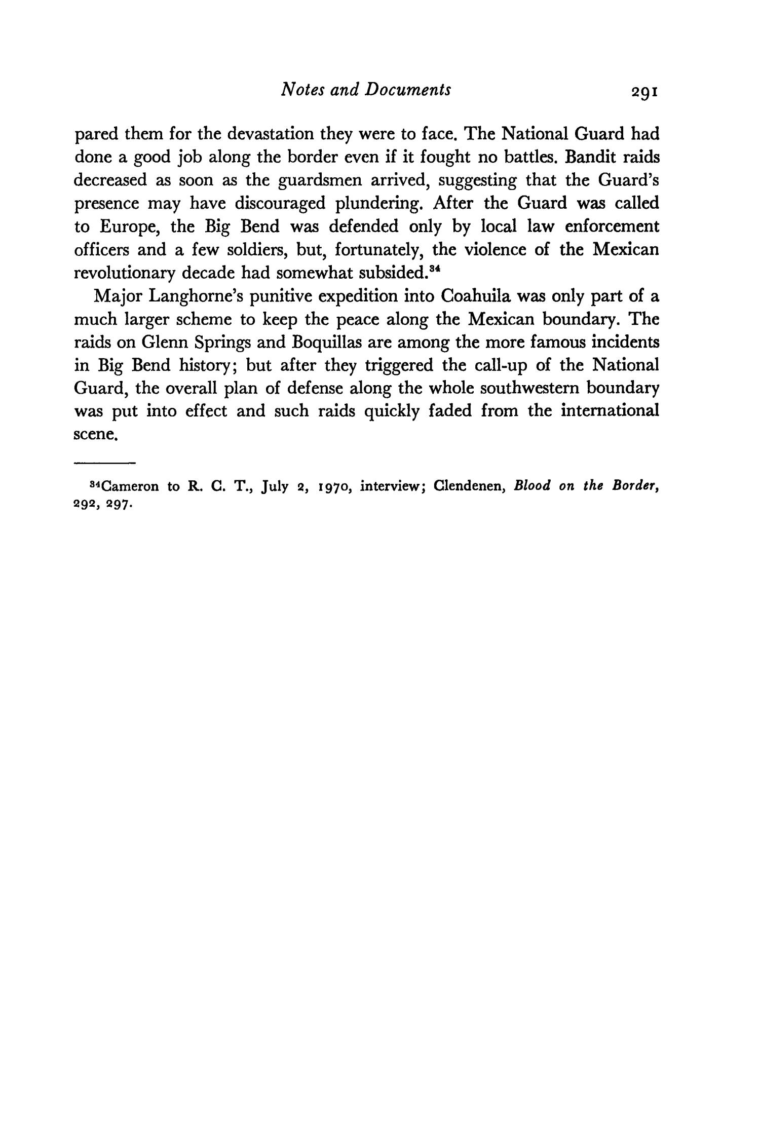 The Southwestern Historical Quarterly, Volume 78, July 1974 - April, 1975                                                                                                      291