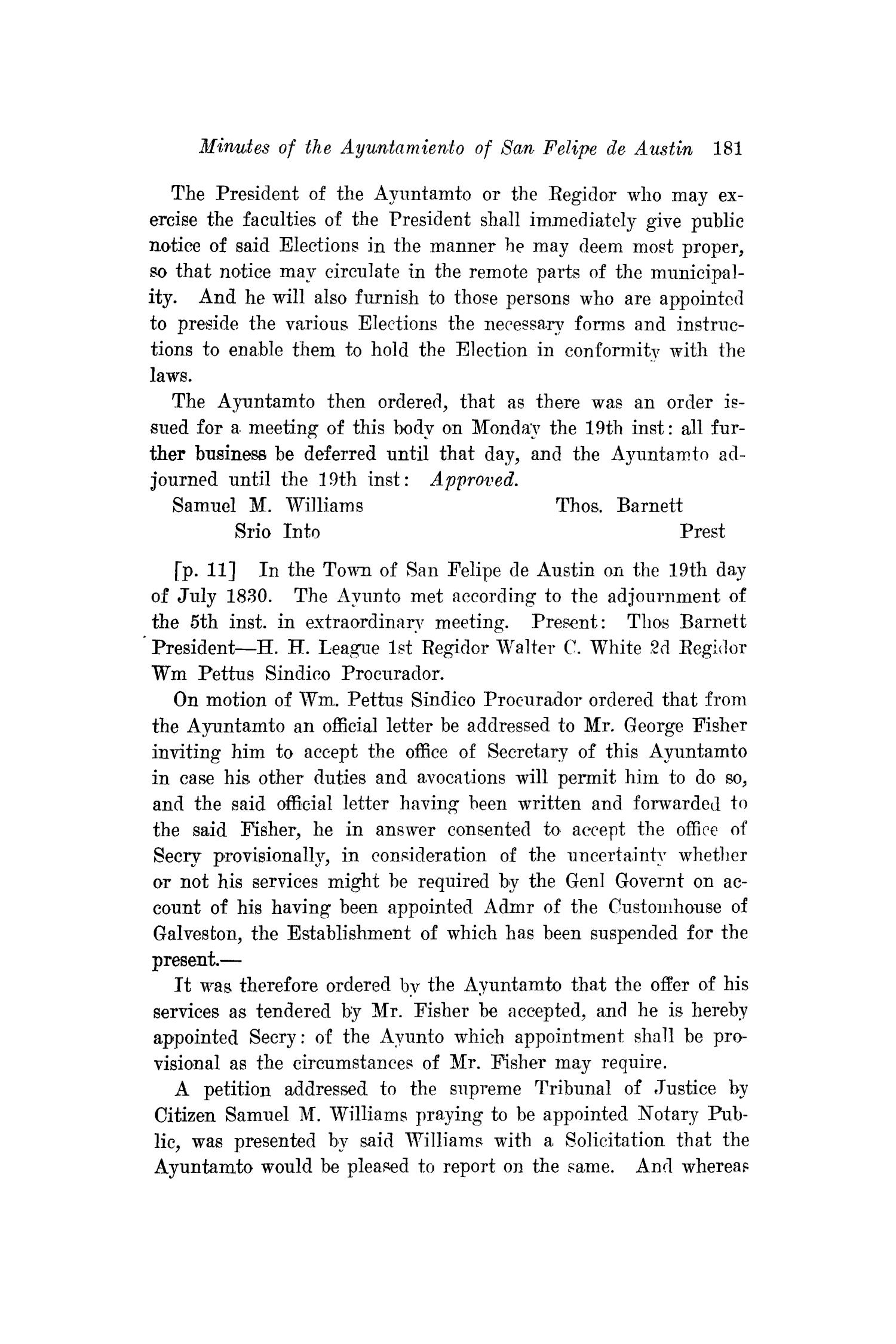 The Southwestern Historical Quarterly, Volume 22, July 1918 - April, 1919                                                                                                      181