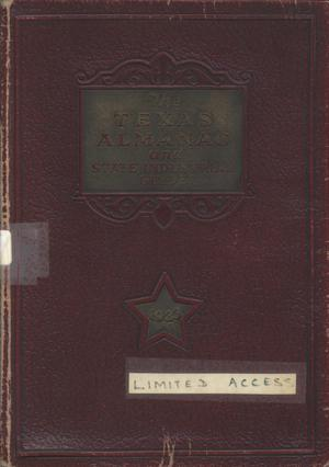 Primary view of object titled 'Texas Almanac and State Industrial Guide 1933'.