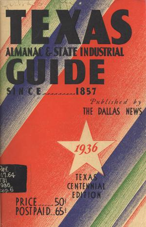 Primary view of object titled 'Texas Almanac and State Industrial Guide 1936'.