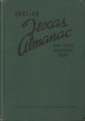 Primary view of object titled 'Texas Almanac, 1941-1942'.