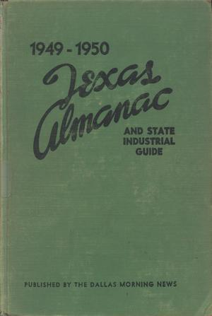 Primary view of object titled 'Texas Almanac, 1949-1950'.