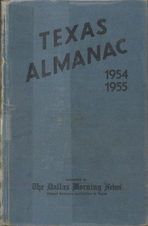 Primary view of object titled 'Texas Almanac, 1954-1955'.