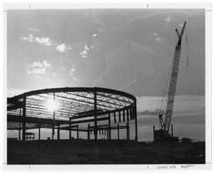 Primary view of object titled '[Ahavath Sholom Synagogue Construction]'.