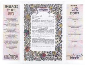 [Sample Jewish Marriage Certificate]