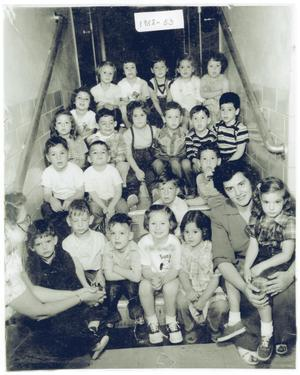 Primary view of object titled '[Jewish Pre-School Students]'.